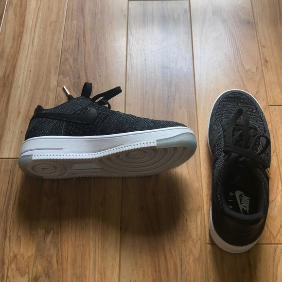 Nike Shoes - Nike Air Force 1 Flyknit 2.0 in black